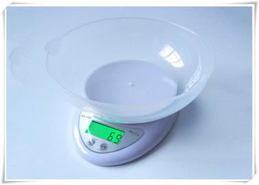 Cina Green LCD Display Electric Food Scale, Divisi 1g Digital Cooking Scales pemasok