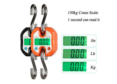 Cina Personal Handle Industrial Crane Scale dengan Material Stainless Steel Hook pemasok